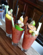 Big Daddy James Bloody Mary infused with T@TGS Tea Vodka and more!!